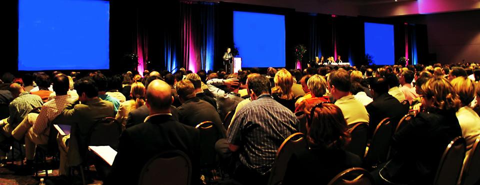 Servicios para conferencias